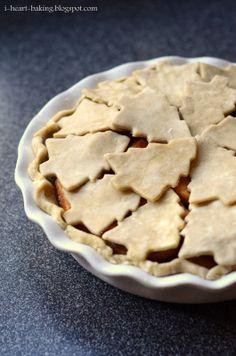 i heart baking!: christmas tree apple pie