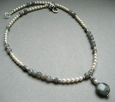 #Laboradite and crystal pearl...    repin ..  like ...share :)    $87 Buy Now! http://amzn.to/124k0Ft