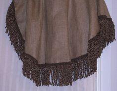 $72 Etsy burlap table skirt