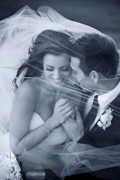 Under the veil together...Love it!