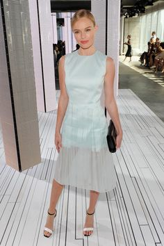 Kate Bosworth Photos: Boss - Front Row - Mercedes-Benz Fashion Week Spring 2015