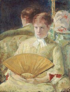 Mary Cassatt.1844-1936. Miss Mary Ellison. 1880