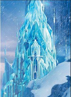 Elsa's castle is the best disney castle