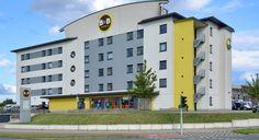 Außenansicht des B&B Hotels #Oberhausen am #Centro