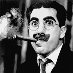 Groucho Marx famous mustache