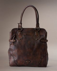 cbc910ea6795 Vintage Stud Tote - The Frye Company Frye Boots