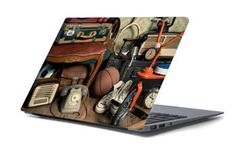 Naklejka na laptopa - Stare zabawki 4664
