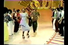 Earth Wind and Fire Mighty Mighty Funk Funky Dancing... oh man! I spent my Saturdays watching Sooooull Trraaaiiinn! I loved the dancing and everybody was happy....and our knees still worked! btw, was that Andre 3000 I spotted there? lol