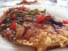 Tilapia in Thai Sauce