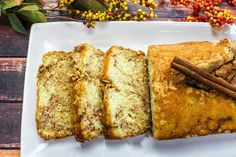 Amish Cinnamon Bread #justapinchrecipes