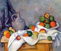 Most Expensive Painting Paul Cezanne - Rideau, Cruchon et Compotier Paul Gaugin, Paul Signac, Renoir, Gustav Klimt, Famous Still Life Paintings, Cezanne Still Life, Most Expensive Painting, Expensive Art, Paul Cezanne Paintings