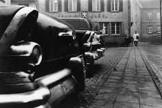Rene Burri - one of my favourite Magnum photographers. From his collection Die Deutschen.