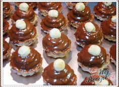Christmas Sweets, Christmas Candy, Christmas Baking, Christmas Cookies, Bread Dough Recipe, Mini Cupcakes, Biscotti, Nutella, Sweet Tooth
