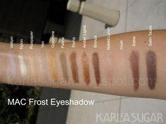 Mac frost eyeshadows 2 karlasugar.net