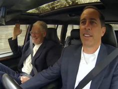 Jerry Seinfeld with David Letterman brews up more great coffee, cars, comedy