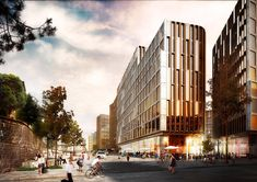 Schmidth Hammer Lassen Architects wins large project in downtown Oslo