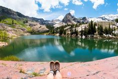 5 Popular Alpine Lake Hikes near Salt Lake City - Bearfoot Theory Hiking Dogs, Hiking Trails, Napa Wine Tours, Utah Parks, St George Utah, Arizona Road Trip, West Coast Trail, Utah Hikes, Moab Utah