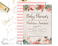 Rustic Floral Baby S