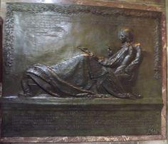 Robert Louis Stevenson Memorial, St Giles Cathedral Edinburgh