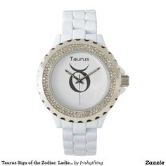 Taurus Sign of the Zodiac  Ladies Watches. Wrist Watch