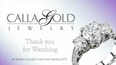 Jewelry Design Details: Carved Through Jewelry - Calla Gold Jewelry