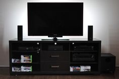 Cancel game room decor, room setup, desk setup, best gaming setup, gaming d Desk Setup, Room Setup, Gaming Setup, Gaming Desk, Entertainment Center Makeover, Entertainment Room, Xbox 360, Tv Cabinets, Man Cave