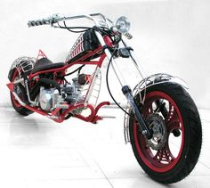 Orange County Choppers - #OCC  Spider Bike... http://youtu.be/E15SY_IdDHE  Pinterest, an online pinboard to collect and share what inspires you... http://biguseof.com/video/?vid=41