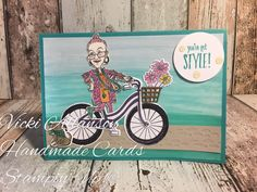 Stampin Up! You've got Style and Bike ride