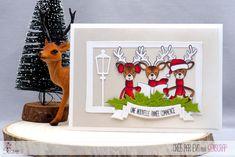 "Eva : Tampons & matrices de coupe (dies) #4enscrap ""Bonne année"" Stampin Up Christmas, Christmas Cards, Scrapbooking, Snow Globes, Advent Calendar, Inspiration, Holiday Decor, Frame, Tampons"