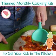 Buy one month, get your second month free! Monthly Cooking Kits Designed To Bring Family Time To The Kitchen Projects For Kids, Diy For Kids, Gifts For Kids, Cooking Kits For Kids, Fun Activities For Kids, Kids Corner, Toddler Meals, Kids And Parenting, Kids Playing