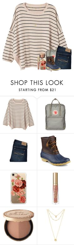 """tagggg in d :)))"" by classyandsassyabby ❤ liked on Polyvore featuring MANGO, Fjällräven, Abercrombie & Fitch, Sperry, Casetify, Too Faced Cosmetics, BaubleBar and country"