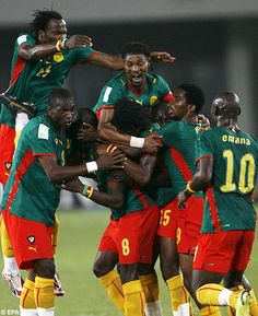 Cameroon at Africa Nations Cup