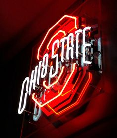 NCAA OHIO STATE BUCKEYES COLLEGE NEON LIGHT SIGN - wiki_neon@hotmail.com