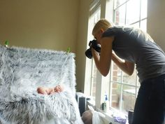 BEST tutorial for photographing a newborn