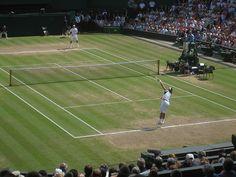 Center Court at Wimbledon