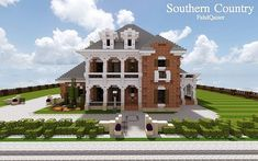 Southern Country Mansion