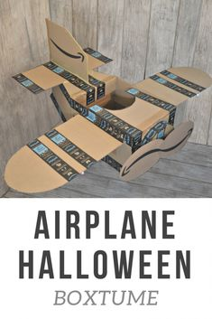 Airplane Halloween Costume Tutorial #halloweencostumekids