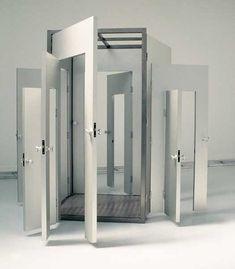 Lilian Bourgeat, 'Porte gigogne', 1999