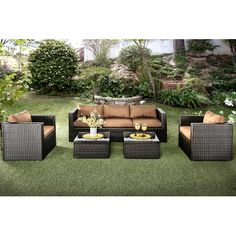 Found it at Wayfair - Boughs 5 Piece Seating Group