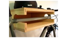 Roomations: Bicycle Storage Solutions doubles as shelf too