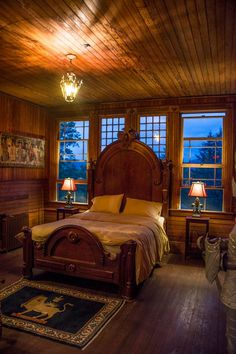 The Camelot Room at dusk...our paean to all things Arthurian and medieval...through the hearts and imaginations of the Pre-Raphaellites...seriously romantic.