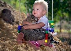 Kids and kittens: What could be cuter