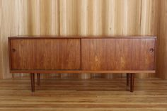 Hans Wegner teak sideboard - model RY26 - manufactured by Ry Mobler, Denmark. This example is date stamped 9th October 1959. twentiethcenturyantiques.co.uk