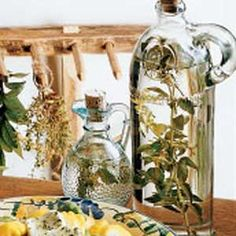 Herb Vinegar; keep this one on file for ways to use herbs from the garden.