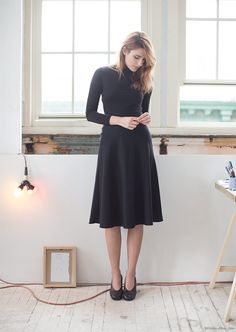 Classic little black dress - add something sparkly and you got yourself a deal.