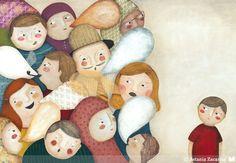 Collage | Ilustradores Argentinos. Mucho más diversión, aprendizaje y cultura para niños y para toda la familia en www.solerplanet.com