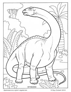 http://ColoringToolkit.com --> dinosaur coloring page --> For the best adult coloring books and supplies including gel pens, colored pencils, watercolors and drawing markers, go to our website shown above. Color... Relax... Chill.