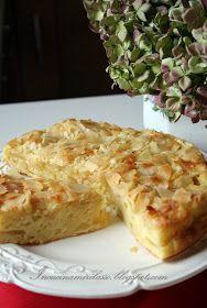 E' una torta di mele che si prepara in 10 minuti, davvero! Esclusa la cottura naturalmente:) Cambrai è una cittadina ricca di arte e st. ♦๏~✿✿✿~☼๏♥๏花✨✿写☆☀🌸🌿🎄🎄🎄❁~⊱✿ღ~❥༺♡༻🌺SU Dec ♥⛩⚘☮️ ❋ Italian Desserts, Vegan Desserts, Easy Desserts, Italian Recipes, Delicious Desserts, Apple Dessert Recipes, Apple Recipes, Sweet Recipes, Cake Recipes