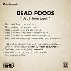 We are being misled and mis-educated about health & nutrition so we are here to set things straight and re-educate the general public. Please share.