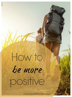 Because a person with a positive attitude anticipates happiness, health and success, and believes that he or she can overcome all obstacles and difficulties that life can bring. http://www.nobletandem.com/positive-person-comment-devenir-une-personne-plus-positive/